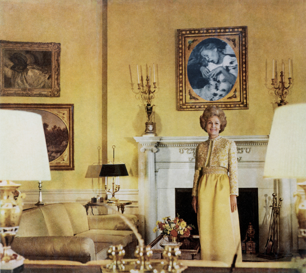 First Lady (Pat Nixon), from the series House Beautiful: Bringing the War Home, c. 1967–1972.