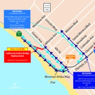 Santa Monica Incline routes