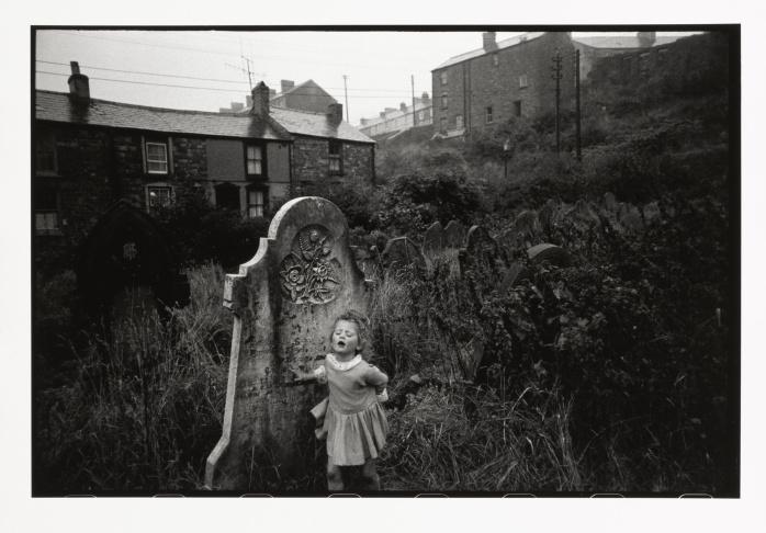Bruce Davidson, Wales, 1965, gelatin silver print, 8 3/8 × 12 1/2 in.