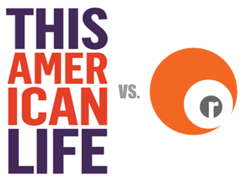 This American Life and Radiolab are battling it out in the Public Radio Bracket Madness finals; who shall be public radio's new king?