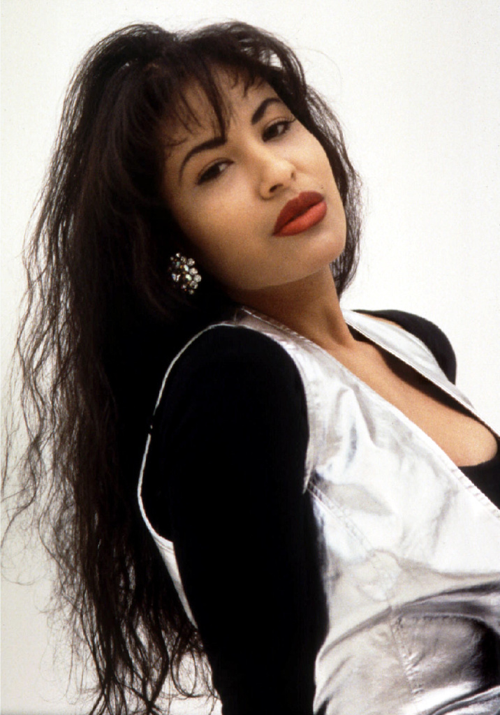 Grammy award-winning Tejano music superstar Selena, who was killed in 1995 when she was 23 years old.