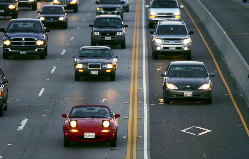 Long Beach city officials say widening I-405 in Orange County will create a traffic bottleneck just outside Long Beach because the additional lanes will end near the Los Angeles County line.