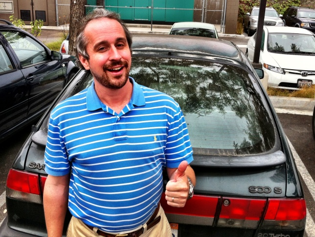 KPCC's Matt DeBord hasn't washed his car in more than a year.