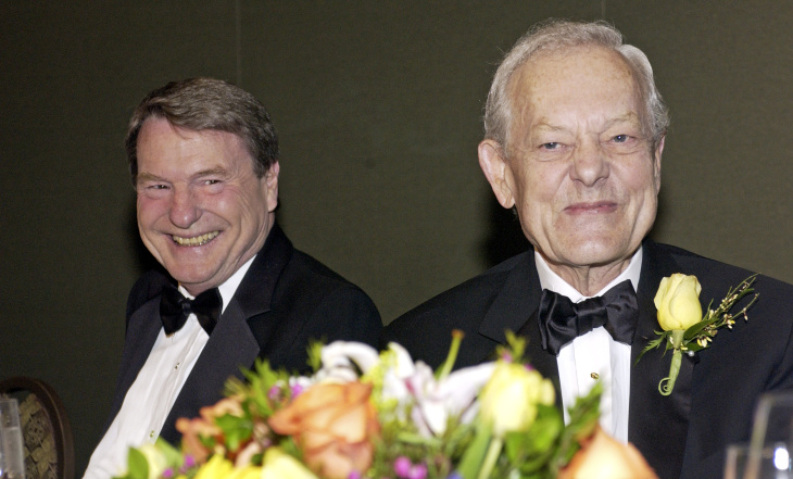 Bob Schieffer Receives Award In Washington