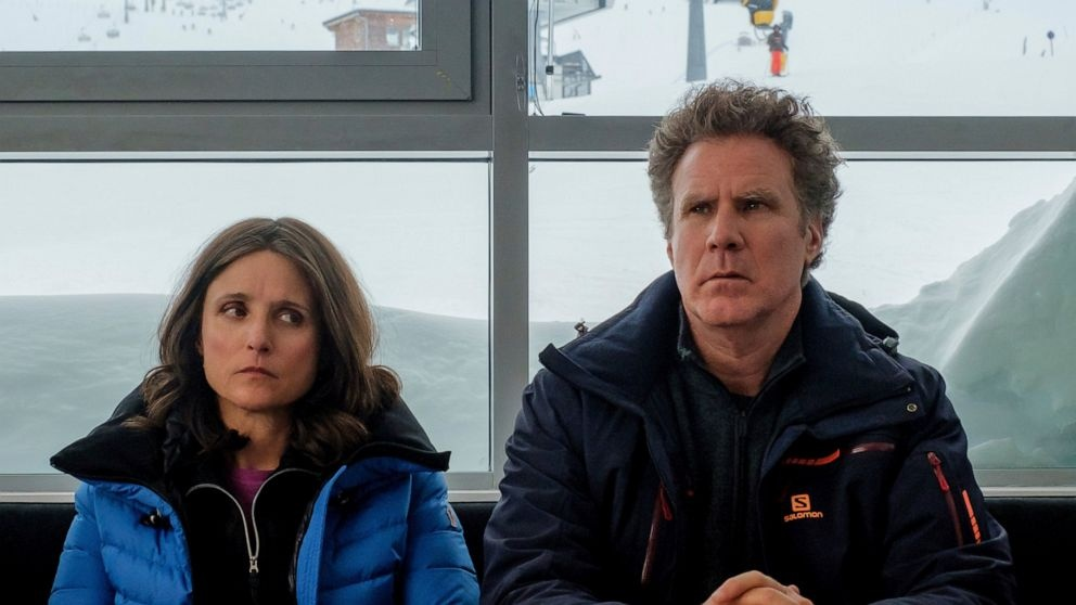 Julia Louis-Dreyfus and Will Farrell co-star in