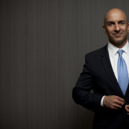 Republican Neel Kashkari attended this weekend's state Republican convention.
