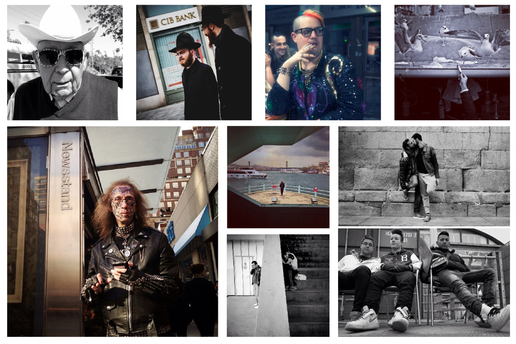 A selection of photographs from The 24 Hour Project, a global experiment in street photography.