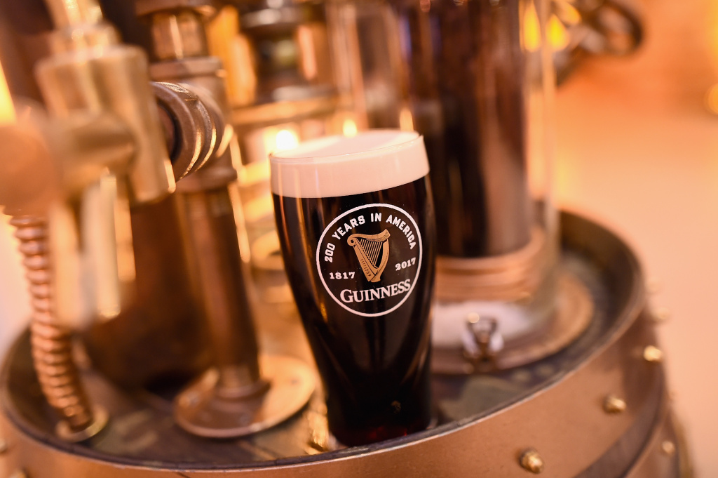 Guinness celebrates 200 years since being exported to America at The Root on October 18, 2017 in New York City.