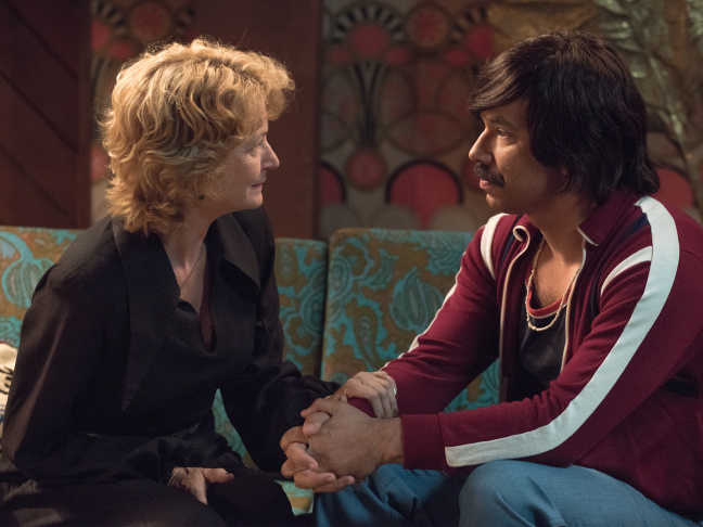 Melissa Leo plays a character inspired by Mitzi Shore and Al Madrigal plays an aspiring comedian in Showtime's