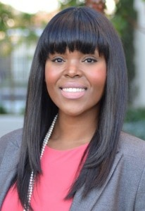 Aja Brown was the top finisher in the Compton mayoral primary race. She advances to the June 4 runoff election against former mayor Omar Bradley.