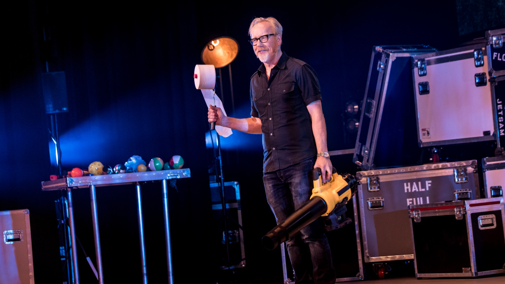 Adam Savage will bring Brain Candy Live! to the Segerstrom Center for the Arts on April 4th.
