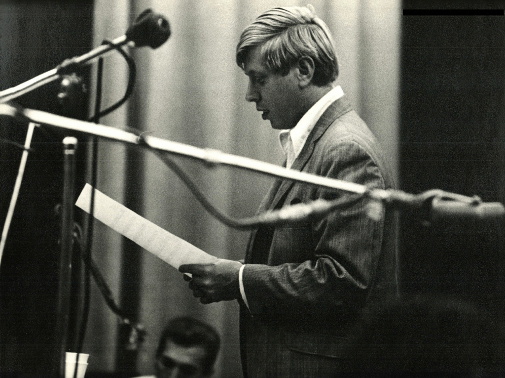 Don Randi in a studio during the 1960s heyday of The Wrecking Crew.