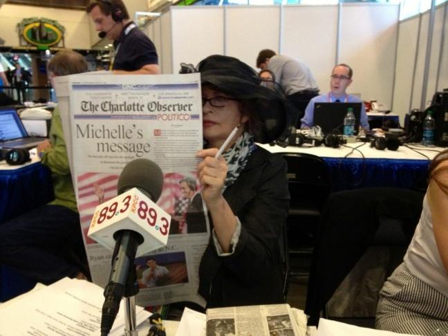 Patt Morrison reads the Charlotte Observer