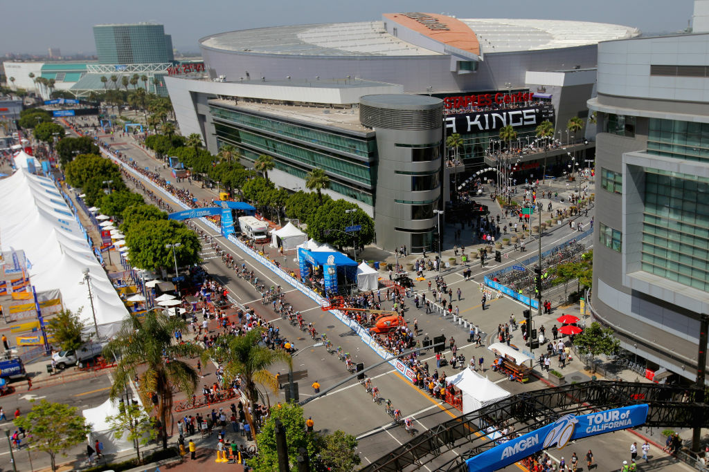 With AEG up for sale what will happen with the proposed football stadium, the staples center and the Stanley Cup champions, L.A. Kings?