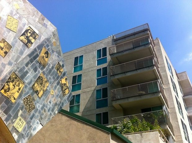 Casa Heiwa is one of more than a dozen buildings set to start energy efficiency retrofits using stimulus funds distributed to the City of Los Angeles.