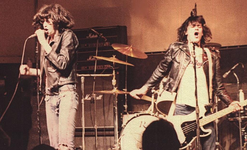 Johnny, Joey, and Dee Dee Ramone at Dooley's, Tempe, Arizona, 1978.