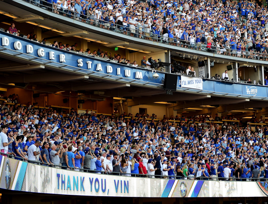 video  vin scully  storybook  sings   dodgers home game  kpcc