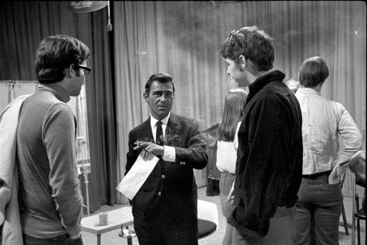 Rod Serling at Ithaca College; Photo Courtesy Ithaca College