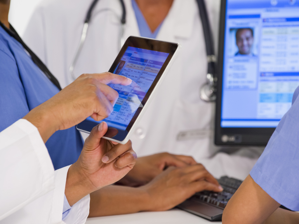 Patients' medical records.