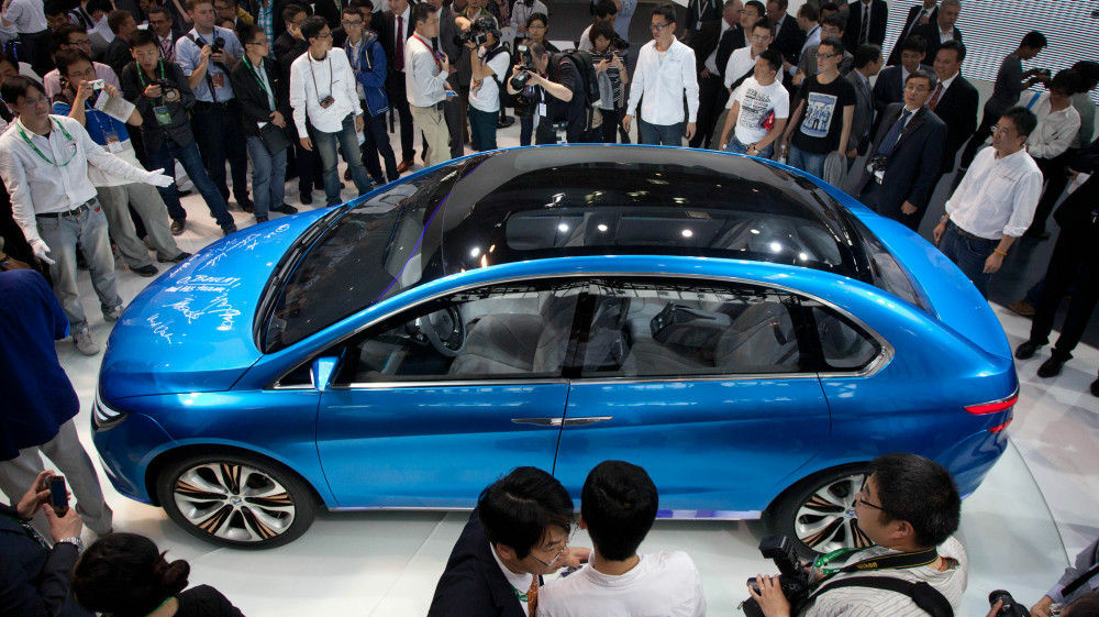 China is now the world's largest market for cars, and the Auto China 2012 car show is now taking place in Beijing.