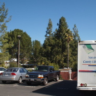 Las Virgenes Bookmobile Exterior