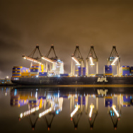 port of los angeles long beach container ship