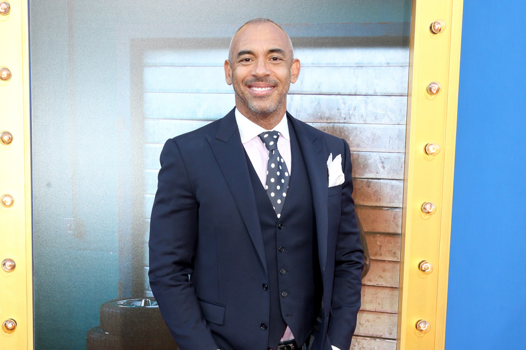 Harvey Mason Jr. at the premiere of Universal Pictures'