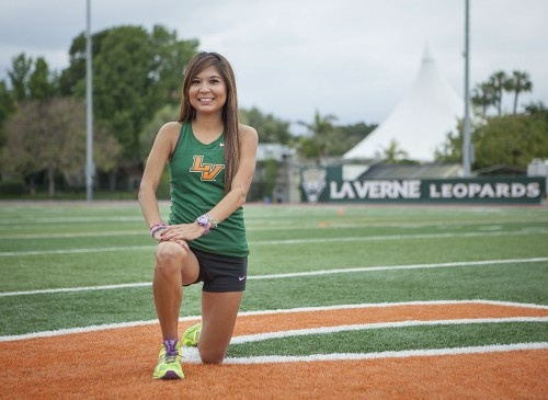 Lenore Moreno, a graduate student, just finished an outstanding track season. She broke an 32-year-old record for the 5,000-meter. She beat the old record of 16:39.16, with a staggering time of 16:32.85.