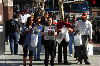 People lined up this week to buy commemorative editions of the L.A. Times