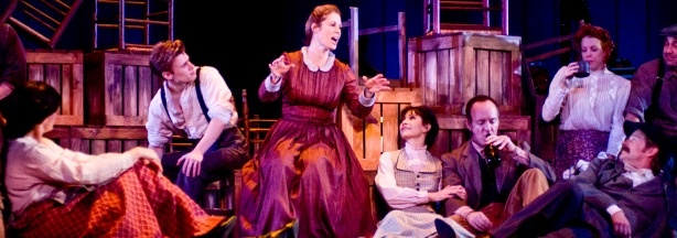 "Victoria Strong (Cousin Nettie) in the Reprise Theatre Company production of Rodgers and Hammerstein's ""Carousel"" playing to February 7 at UCLA's Freud Playhouse."