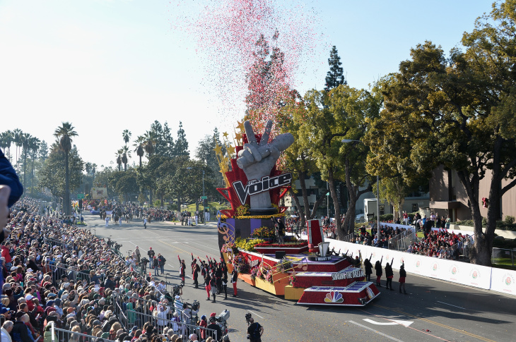 The Pasadena City College Band attends the 125th Tournament of Roses Parade Presented by Honda on January 1, 2014 in Pasadena, California.