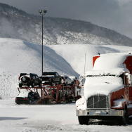 Winter Storm Forces Interstate 5 To Close