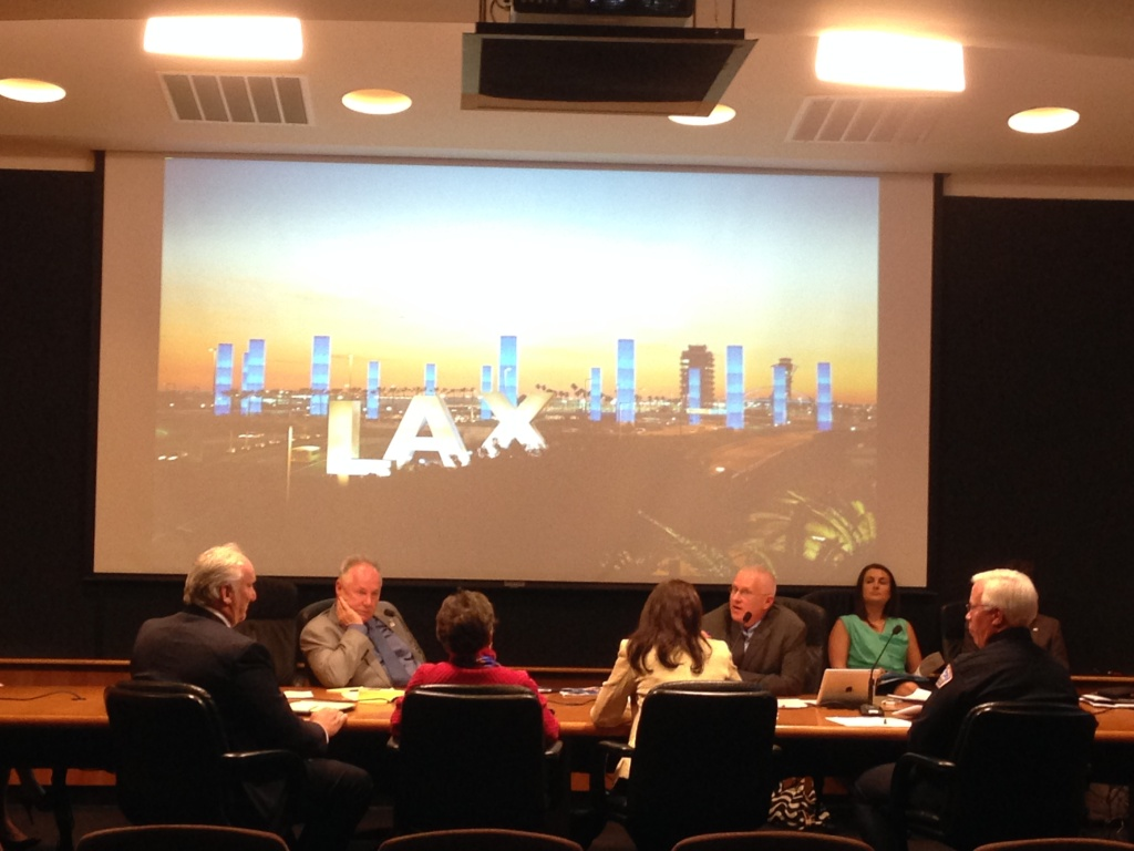 Members of the L.A. City Council met with LAX officials to work on improving emergency evacuation and communications at the airport.