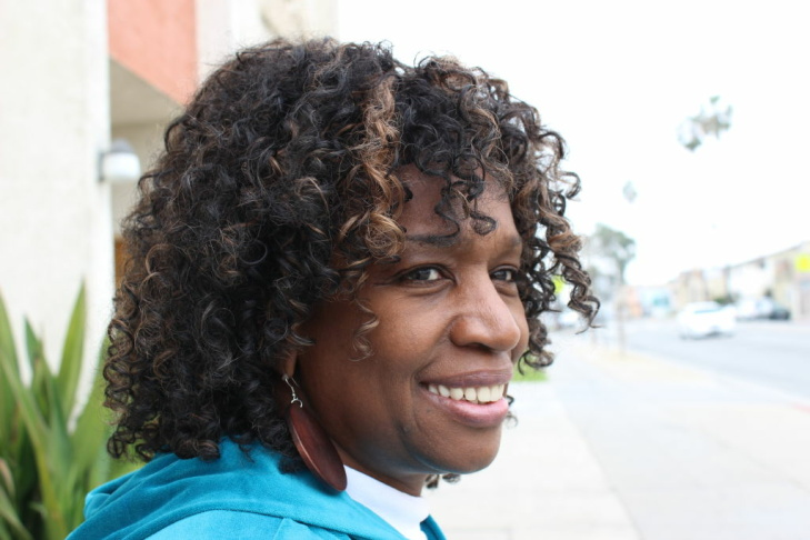 Linda Jay of South Central Los Angeles loves sitting in on court trials. The first high-profile trial she witnessed was one of L.A.'s biggest. This summer, she hopes to get her own justice in the courtroom.