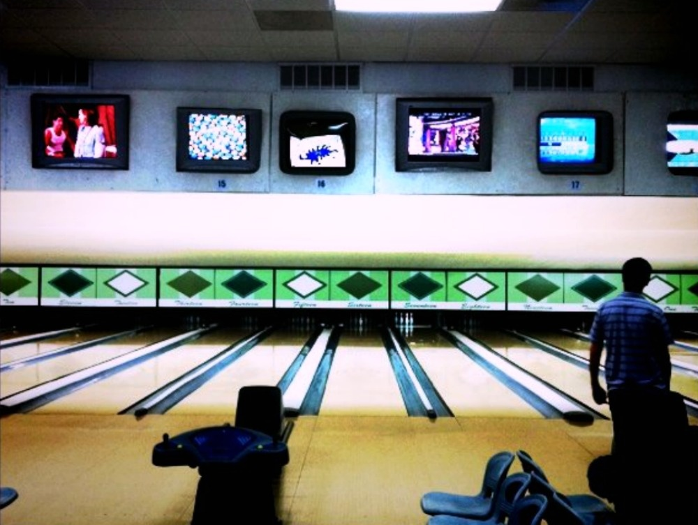 The lanes at All Star Lanes in Eagle Rock.