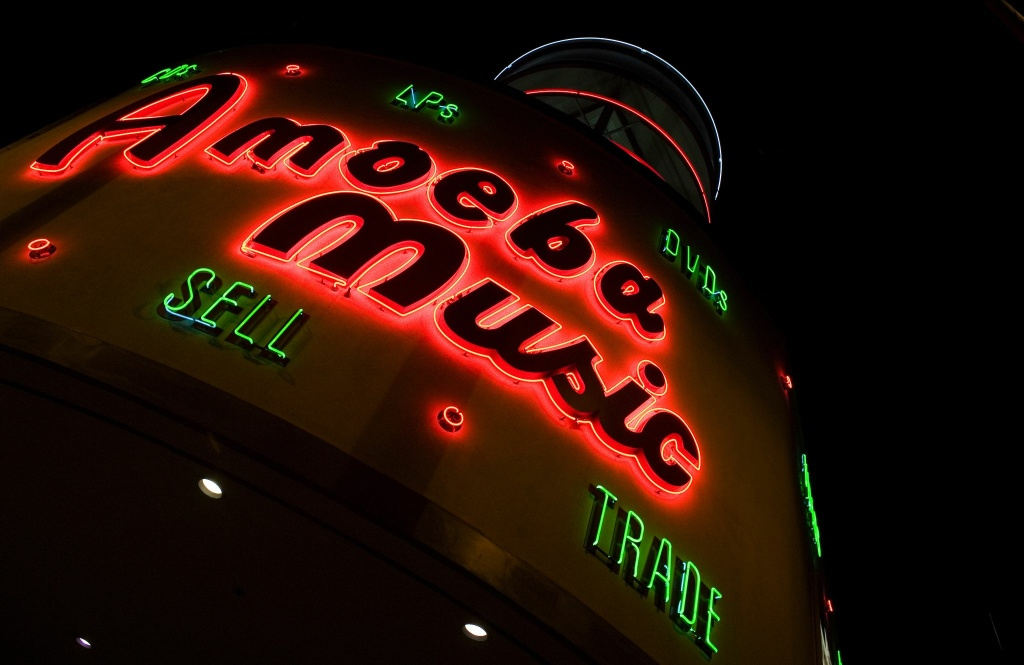 Amoeba Music in Hollywood