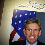 Condolence Book For Ambassador Stevens Signed On Capitol Hill
