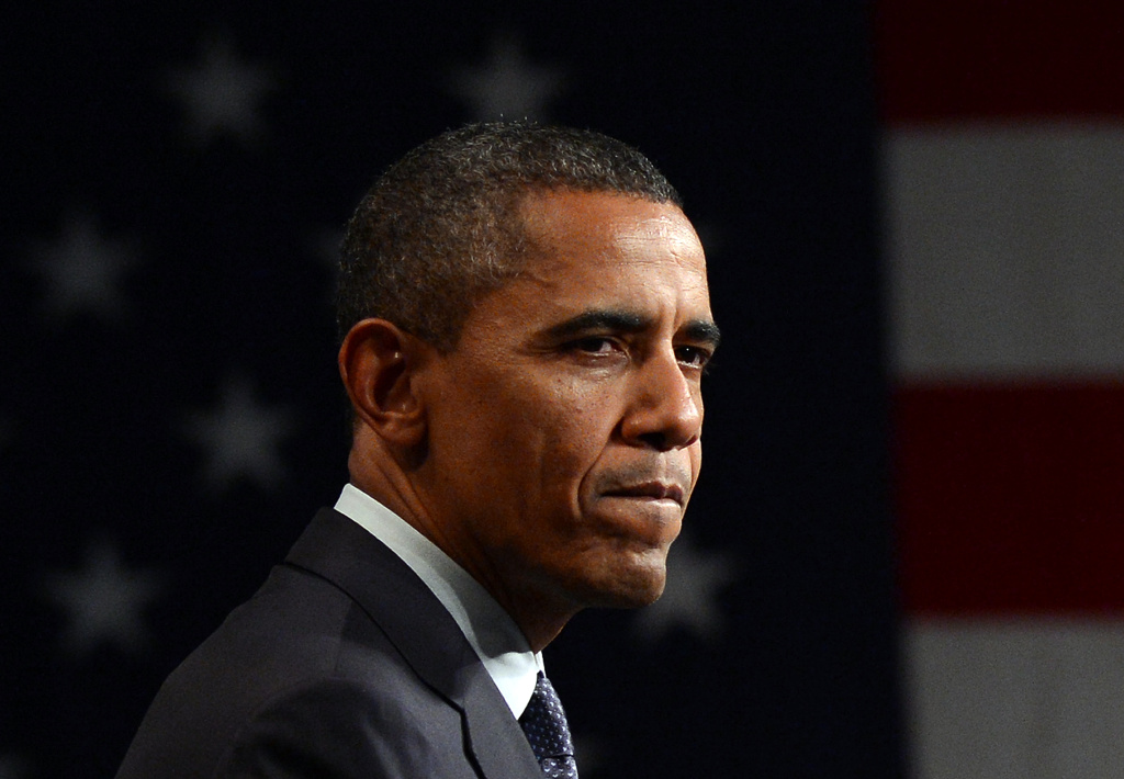 How has the situation in Syria and the U.S. response affected your view of President Obama?
