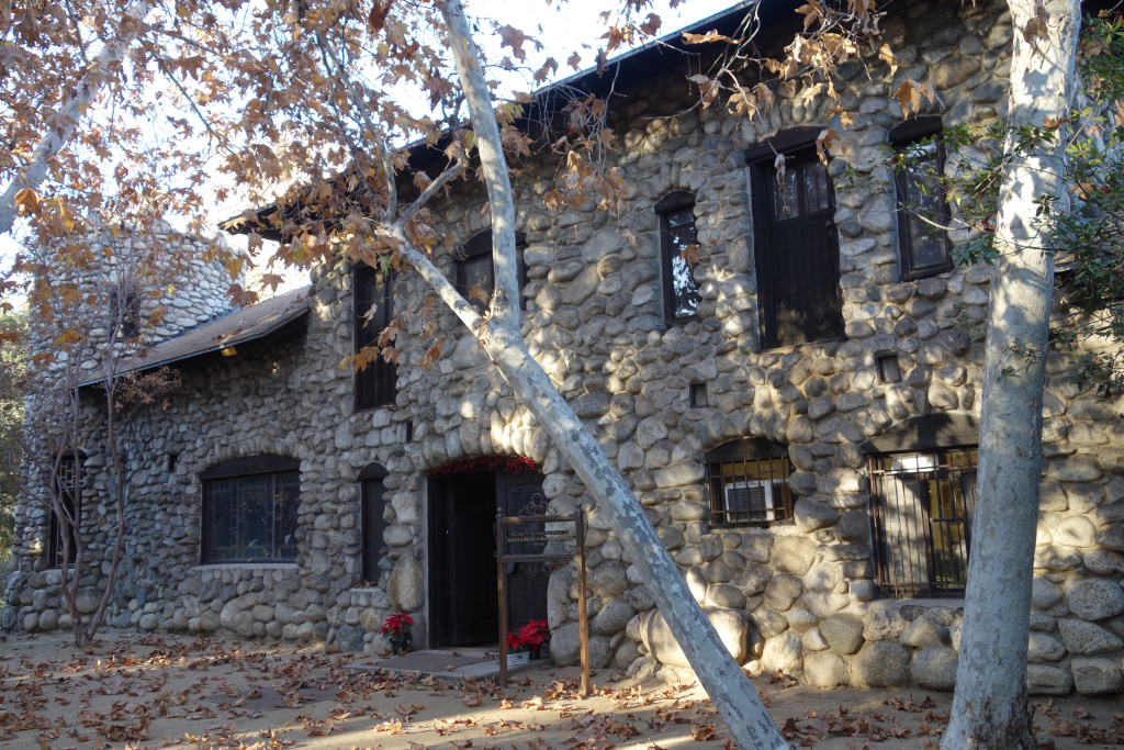 File: The front exterior of the Lummis Home was left unfinished after the death of Charles Lummis' son at age 6 of pneumonia.