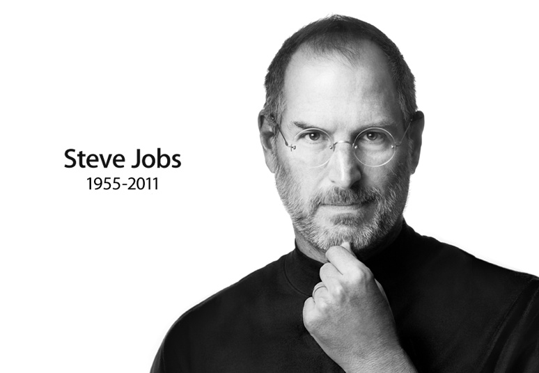 Apple's website turned into a tribute to Steve Jobs moments after his death at 56 was announced on Wednesday.