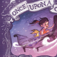 "Cover of Claire Keane's children's book, ""Once Upon A Cloud."""