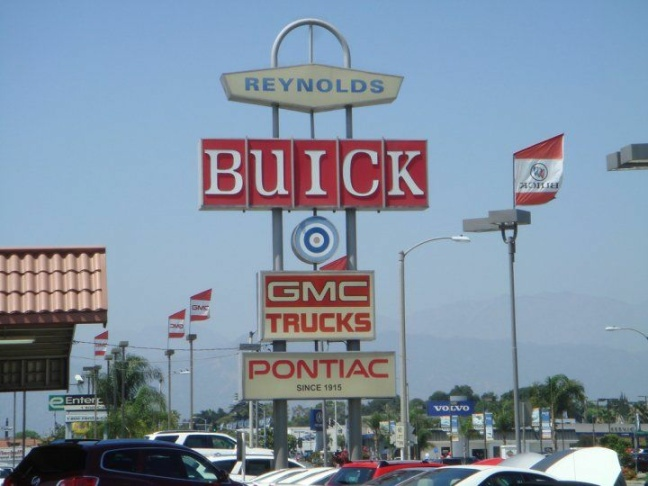 Deane Salter, 85, still works full time at Reynolds GMC Buick Isuzu in West Covina after more than half a century on the job.