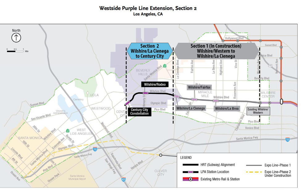 Federal funding for the Purple LIne second phase will allow the project to move forward, but tunneling under Beverly Hills High School remains controversial.