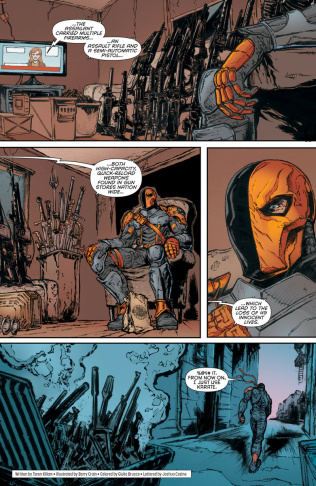 A page from the comic book anthology