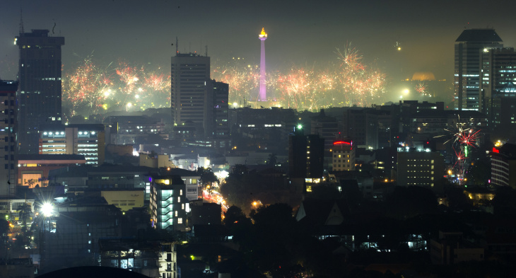 INDONESIA-NEW YEAR