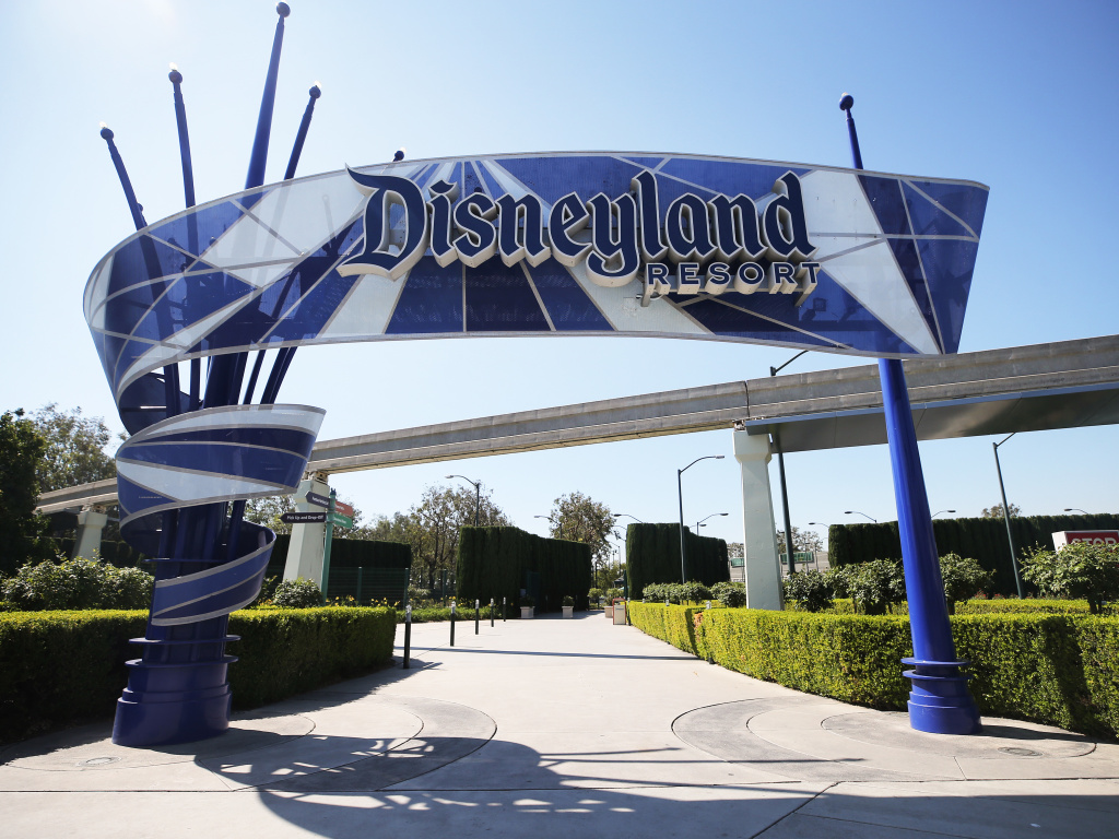 Disneyland, Anaheim, Calif., September 2020. California announced theme parks, sports arenas and stadiums will be allowed to open on April 1 if they meet health requirements at the county level.
