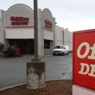 An Office Depot store in San Rafael, Calif.