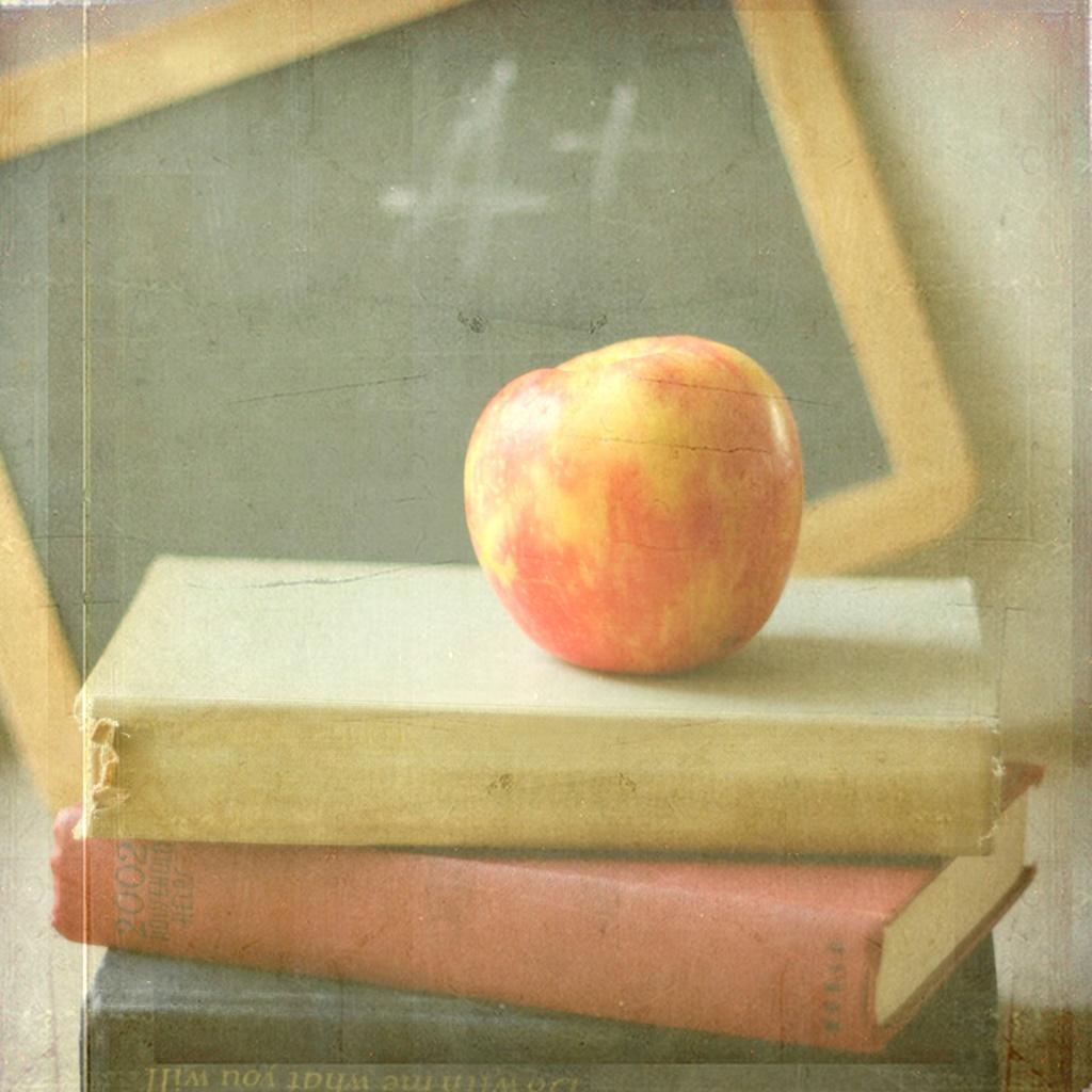 teacher desk apple