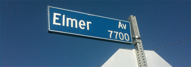 Elmer Avenue is one of a growing number of streets in Los Angeles city and county that demonstrate principles of low-impact development.