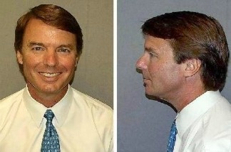 The government released the booking photos of indicted former presidential candidate John Edwards Wednesday. Edwards has a long road to redemption ahead of him.